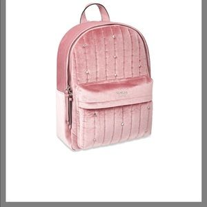 VICTORIA'S SECRET Velvet Stud City Backpack bag